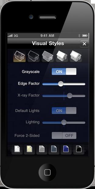 TurboViewPro-iPhone Vizstyles