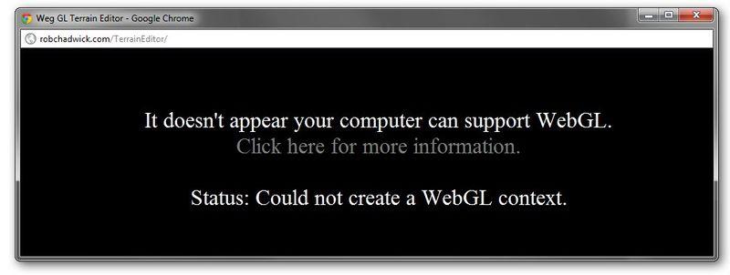 Webgl-no