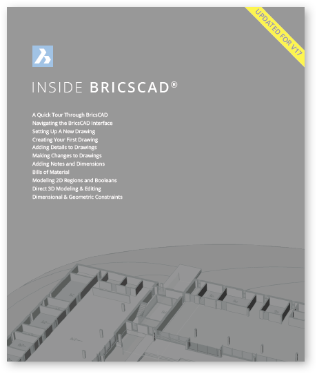Inside BricsCAD V8 - V18 - eBooks onLine