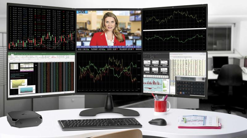 3. HP Z2 Mini Workstation w_ displays