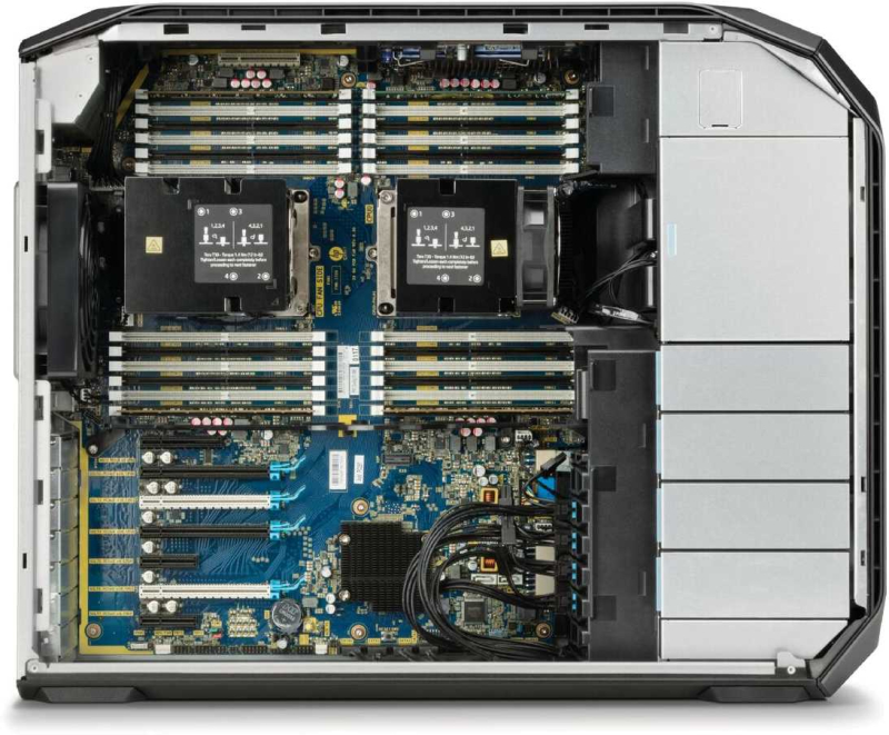 HP Z8 Workstation with inside_covers off_C