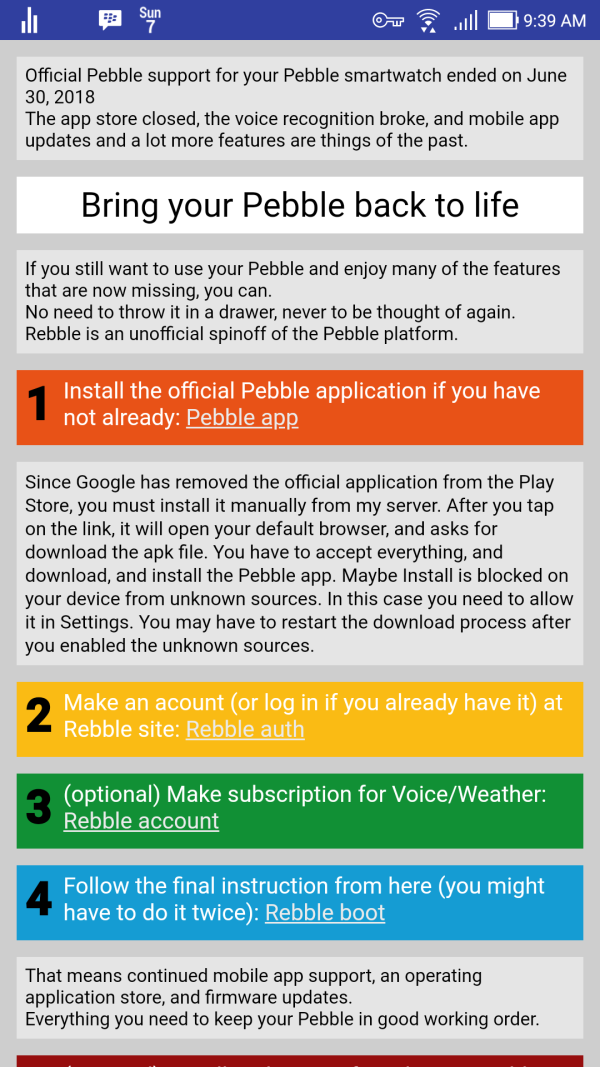 How to resurrect your old Pebble smartwatch - WorldCAD Access